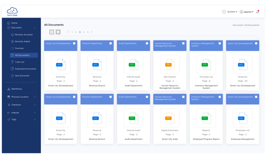 Document Management System   TACT Connect