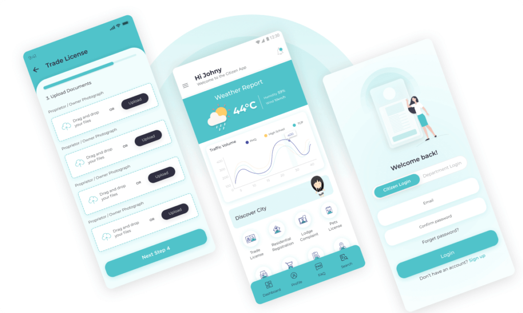 Smart City Mobile Application   TACT Connect